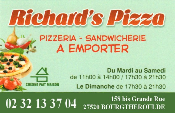 richard pizza Bourgtheroulde
